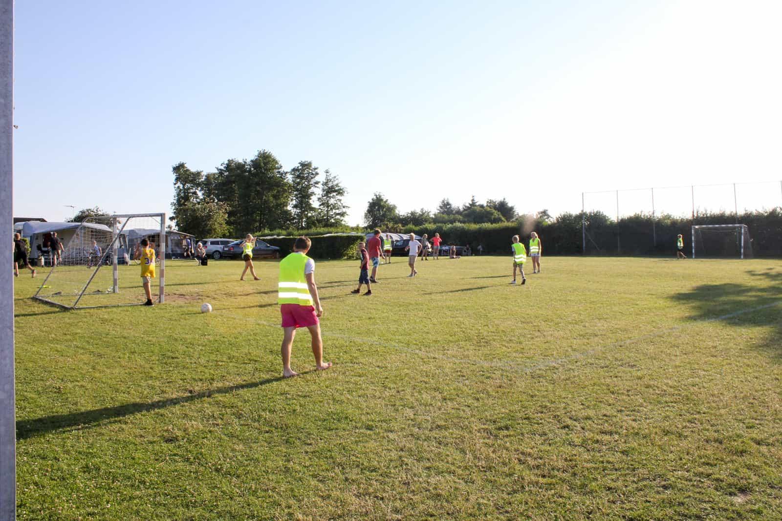 Fodbold på Sandager Næs Camping