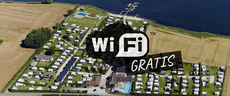 Campingplads med gratis wifi