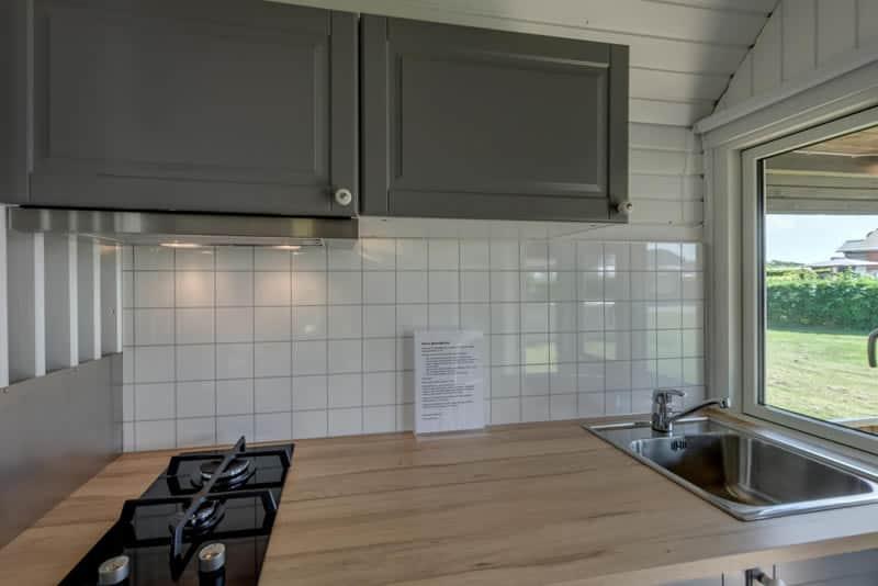 Køkken i hytte